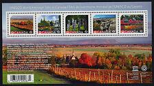 Canada 2889 MNH - UNESCO World Heritage Sites, Boat, Architecture