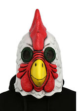 Props Latex Mask Adult Halloween Richard Rooster Mask Hotline Miami Game Cosplay