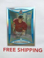 2008 Bowman Chrome RC Refractor Serial #D /500 Card #BCP230 Jordan Norberto