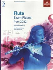 More details for flute exam pieces from 2022 abrsm grade 2 music book & piano same day dispatch