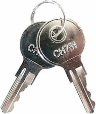Pyramid Time Clock Key For 3500 4000 4000pro 5000 And More 41479k Set Of 2 Keys