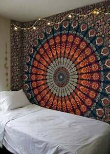 Tapestry Blue Multi Tapestry Wall Hanging Mandala Tapestries Indian Cotton Sheet