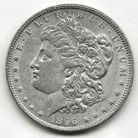 U.S.A. 1 Dolar Morgan 1896 @ Sin circular @ plata