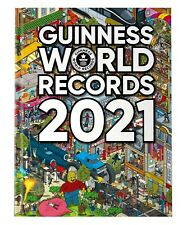 2021 Guinness World Records Book Annual Hardcover Gr8 Christmas Gift