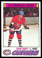1977 78 OPC O PEE CHEE #120 STEVE SHUTT ALL STAR NM MONTREAL CANADIENS HOCKEY