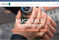 Ready made Drop shipping website Free hosting & set up , Watch Stores