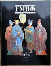 Rivista FMR #20, Gennaio-Febbraio 1984, Ed. Franco Maria Ricci