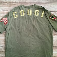 COOGI Green Gold EMBROIDERY T-SHIRT SIZE 2XL