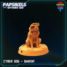 "Cyberpunk ""Cyber Dog Bantay"" Papsikels   28mm-35mm   DnD   Tabletop RPG Boneshop"