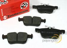 VW Golf 7 VII - Zimmermann Forros de Freno Pastillas para Traseras