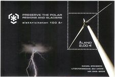 Aland 2009 Polar/Glacier/Wind Turbine/Electricity/Energy/Environment  m/s n41592
