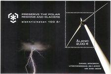Aland 2009 Polare/Ghiacciaio/turbina eolica/Energia Elettrica/ambiente/M/S n41592
