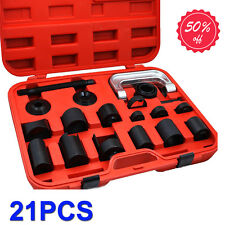 21PCS Press Car Ball Joint Repair Tool Service Kit Remover Installer Hand Tools