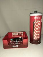 Coca Cola (Coke) Napkin and Straw Holder Vintage Style
