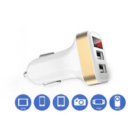 EE_ LN_ AM_ Dual USB Port LCD Display 1A/2.1A Car Charger Adapter for iPhone Sam