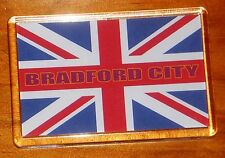 Bradford City Union jack flag football fridge magnet