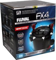 FLUVAL FX4 CANISTER FILTER With Media, Sponge, Bio max Complete Package A214