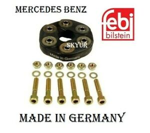Mercedes Drive Shaft Flex Joint Disc Kit With Mounting For W124 W201 W202 W210