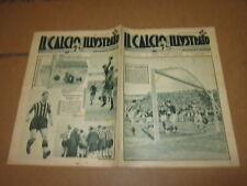 IL CALCIO ILLUSTRATO N°3 GENNAIO 1934 LIVORNO JUVENTUS AMBROSIANA CASALE