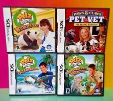 Pet Vet Petz Paradise Wildlife Ocean Patrol - Game Lot Nintendo DS Lite 3DS 2DS
