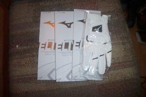 3 BRAND NEW Mizuno Elite Mens LH extra extra large   Gloves  XXL