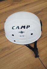 Camp high star mountaineering, Climbing, abseiling Helmet white vgc