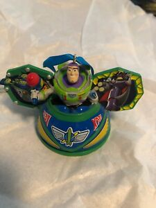 Disney Parks Toy Story Buzz Ear Hat Ornament New with Tag Christmas Holiday