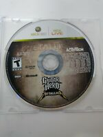 Guitar Hero: Metallica (Microsoft Xbox 360, 2009) Disc Only Tested