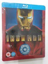 Iron Man 1° Film Blu-ray Edizione Steelbook Audio Italiano - COMPRO FUMETTI SHOP