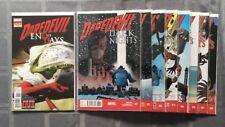 Daredevil: Dark Nights Complete Set Plus Daredevil: End Of Days Issue 1.