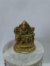 Maa durga ambe maa Statue In  Brass 2.5 Inch tall USA Seller fast shipping