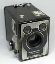VINTAGE KODAK SIX 20 BROWNIE E BOX CAMERA WORKING