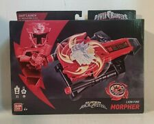Action Sounds! Fires Darts! Power Rangers Super Ninja Steel Lion Fire Morpher!