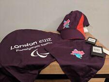 Adidas London 2012 Paralympics Games VIK Cap & VIK Logos - New w Tags
