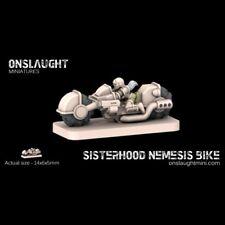 Onslaught Miniatures - Sisterhood Nemesis Bike Squad - 6mm