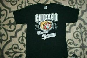 Chicago White Sox TShirt 2005 World Series Champs 2021 Funny Black Cotton Tee