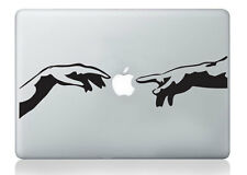 MICHELANGELO Adam Mani Adesivo Mac Apple MacBook Laptop Decalcomania Arte Vinile Arte