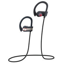 Sports Bluetooth Headset Running Sweatproof Earbuds With Mic for iPhone Samsung