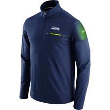 New Seattle Seahawks Nike Elite Coach Half-Zip Performance Jacket Sz L  $85