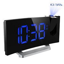 Détails sur Mpow Radio Réveil à Projection FM avec Double Alarmes, Horloge