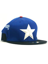 New Era Captain America Exclusive 59fifty Custom Fitted Hat Size 7 1/4 Marvel