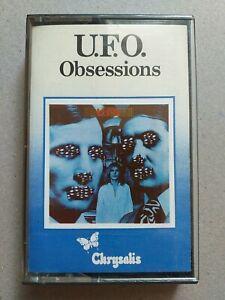U.F.O. Obsessions original 1978 Chrysalis Audio Cassette