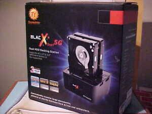 ThermalTake BlacX Duet 5G USB 3.0 Dual HDD Docking Stations ST0022U SATA