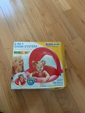 2 In 1 Swim System, Baby/Toddler, Baby Boat and Sunshade and Swim Trainer