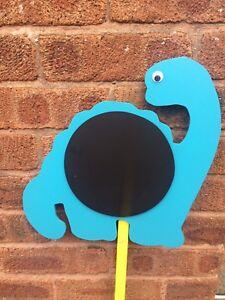 Children's Outdoor Chalkboards Garden Handmade variety designs Dinosaur Nursery