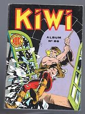 KIWI. Album éditeur n°88 - n°366, 367, 368.  Editions LUG 1985. Bel état