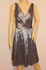 Formal Party/Prom Dress, Watters and Watters, Charcoal Gray, Size 12