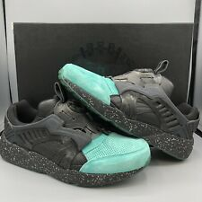 PUMA X RONNIE FIEG KITH DISC COA COAT OF ARMS 2 MINT TOE 356609 01 SIZE 10