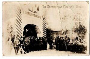 Mexico Mexicali The Garrison Military Border War Revolution Postcard RPPC