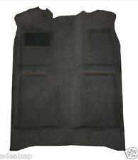 ACC 77-90 CHEVROLET CAPRICE 4-DOOR BLACK MOLDED CARPET RUG - MADE IN USA